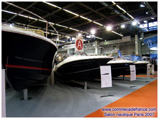 Salon nautique 2007 porte de versailles avec bleu for Salon nautique porte de versailles horaires